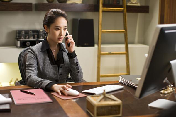Kim Min-jung dans The Scam (2009)