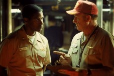 Denzel Washington et Gene Hackman dans Crimson Tide (1995)