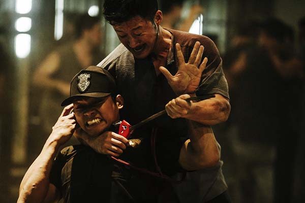 Wu Jing et Tony Jaa dans SPL II: A Time for Consequences (2015)