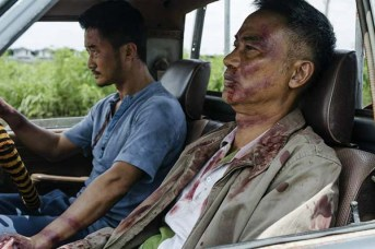 Wu Jing et Simon Yam dans SPL II: A Time for Consequences (2015)