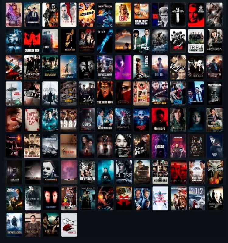 Bilan 100 films (2019)