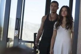 Gina Rodriguez et Ismael Cruz Cordova dans Miss Bala (2019)