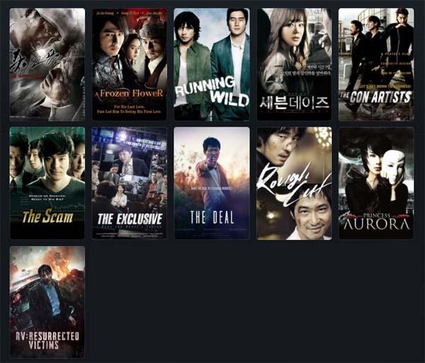 Films Coréens Mars 2019