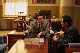 Ju Ji-hoon et Hwang Jung-min dans The Spy Gone North (2018)