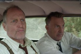 Kevin Costner et Woody Harrelson dans The Highwaymen (2019)