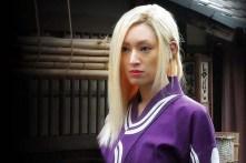 Chiaki Kuriyama dans Mugen no jûnin (2017)