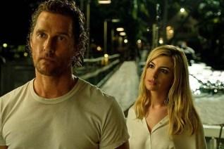 Matthew McConaughey et Anne Hathaway dans Serenity (2019)
