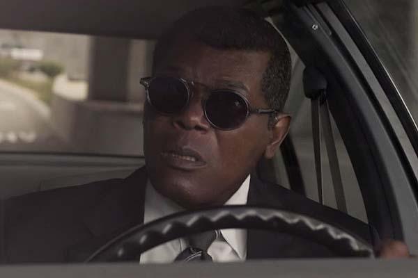 Samuel L. Jackson dans Captain Marvel (2019)