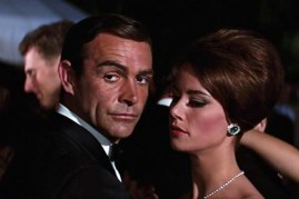 Sean Connery et Claudine Auger dans Thunderball (1965)