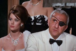 Claudine Auger et Adolfo Celi dans Thunderball (1965)