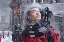 Qu Chuxiao dans The Wandering Earth (2019)