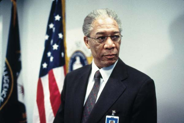 Morgan Freeman dans The Sum of All Fears (2002)