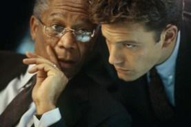 Morgan Freeman et Ben Affleck dans The Sum of All Fears (2002)