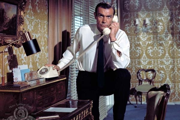Sean Connery dans From Russia with Love (1963)