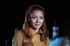 Diana Rigg dans On Her Majesty's Secret Service (1969)