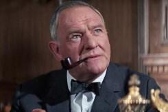 Bernard Lee dans On Her Majesty's Secret Service (1969)