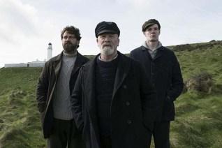 Gerard Butler, Peter Mullan et Connor Swindells dans The Vanishing (2018)