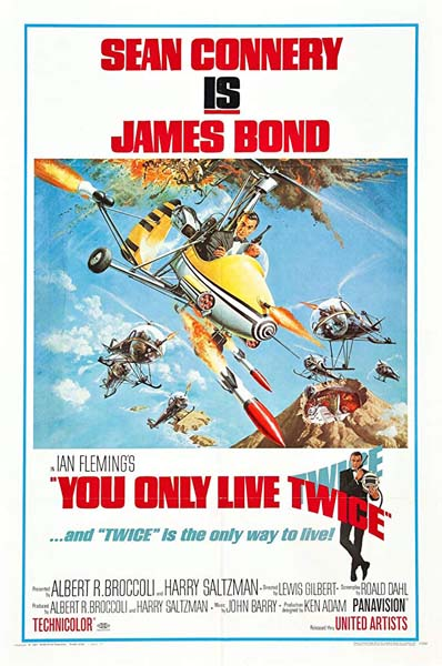 YOU ONLY LIVE TWICE (1967)★★★☆☆