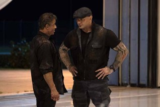 Sylvester Stallone et Dave Bautista dans Escape Plan: The Extractors (2019)