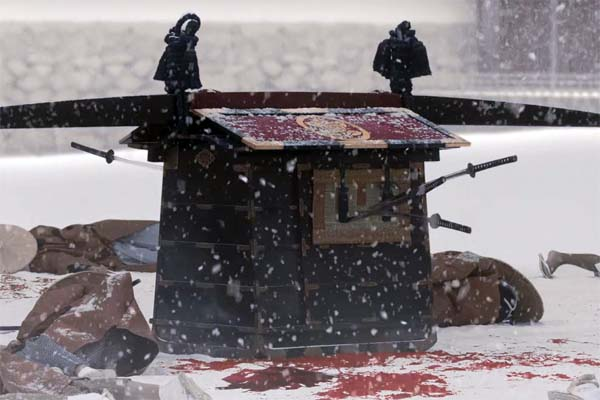 Snow on the Blades (2014)