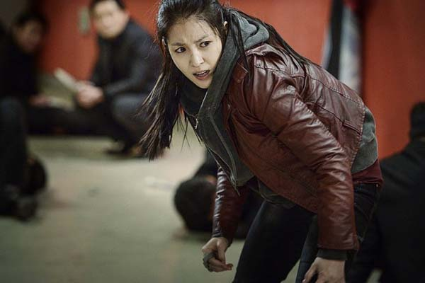 BoA dans Big Match (2014)
