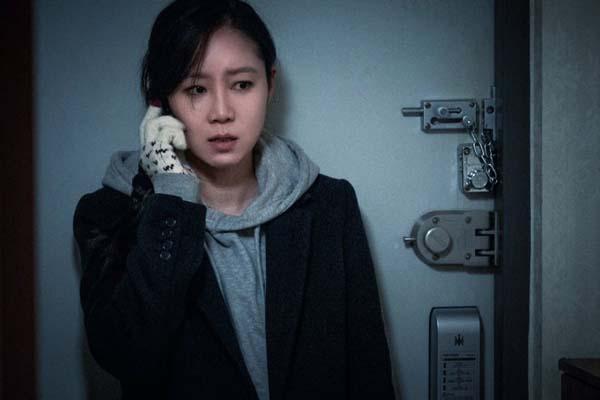 Gong Hyo-jin dans Door Lock (2018)