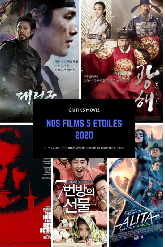 NOS FILMS 5 ETOILES 2020