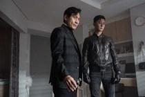Ahn Sung-ki et Park Seo-joon dans The Divine Fury (2019)