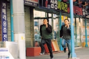 Jung Jin-young et Yang Dong-geun dans Wild Card (2003)