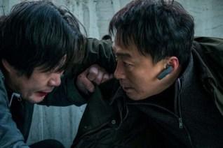 Yoo Jae-myung et Lee Sung-min dans The Beast (2018)