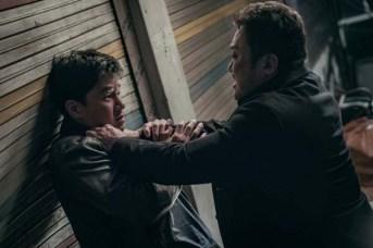 Kim Mu-yeol et Ma Dong-seok dans The Gangster, The Cop, The Devil (2019)