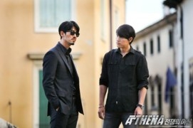 Cha Seung-won et Jung Woo-sung dans Athena: Goddess of War (2010)