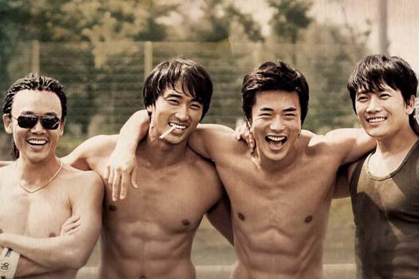Kwon Sang-woo Kim In-kwon, Ji Sung et Song Seung-heon dans Fate (2008)
