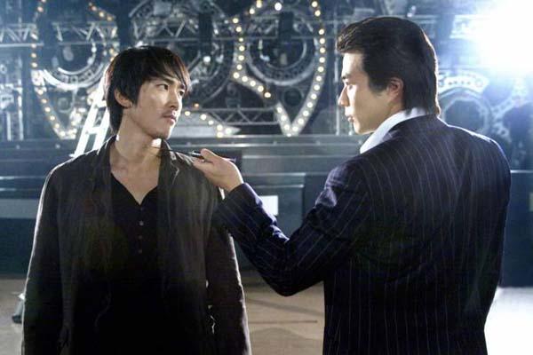 Kwon Sang-woo et Song Seung-heon dans Fate (2008)