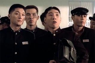 Yu Oh-seong, Jang Dong-gun, Seo Tae-hwa et Jung Woon-taek dans Friend (2001)