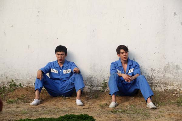 Yoo Oh-sung et Kim Woo-bin dans Friend: The Great Legacy (2013)