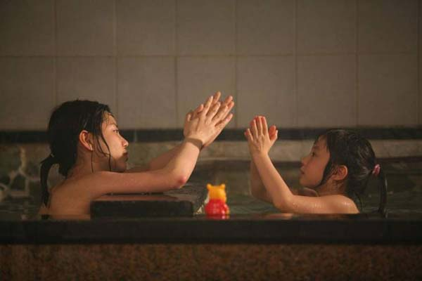 Lee Ah-jin et Ryoo Hyun-bin dans A Light Sleep (2008)