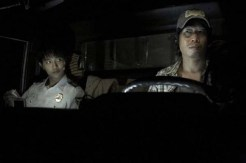 Yoo Hae-jin et Jin Goo dans Truck (2008)