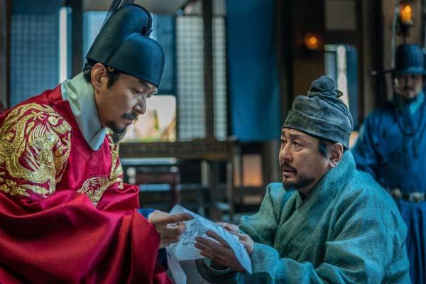 Han Suk-kyu et Choi Min-sik dans Forbidden Dream (2019)