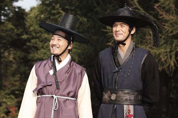 Cha Tae-hyun et Oh Ji-ho dans The Grand Heist (2012)