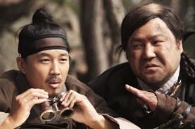 Cha Tae-hyun et Ko Chang-seok dans The Grand Heist (2012)