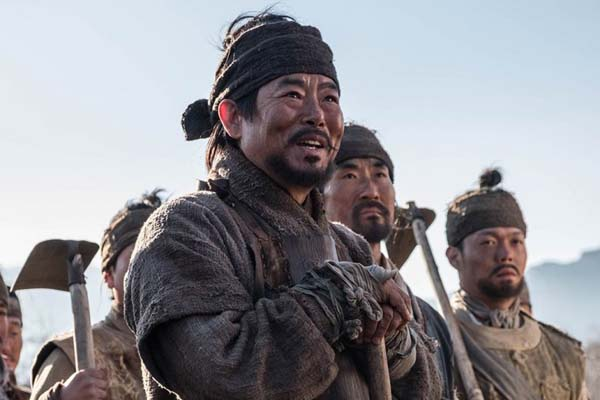 Sung Dong-il dans The Great Battle (2018)