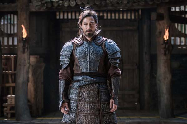 Jo In-sung dans The Great Battle (2018)