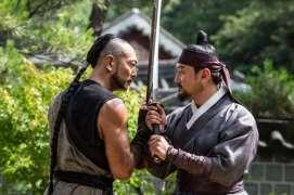 Jung Man-sik dans The Swordsman (2020)