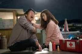 Yoo Hae-jin et Jo Yoon-hee dans Luck Key (2016)