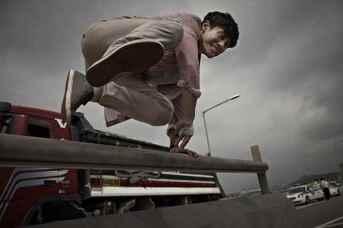 Shin Ha-kyun dans Running Man (2013)