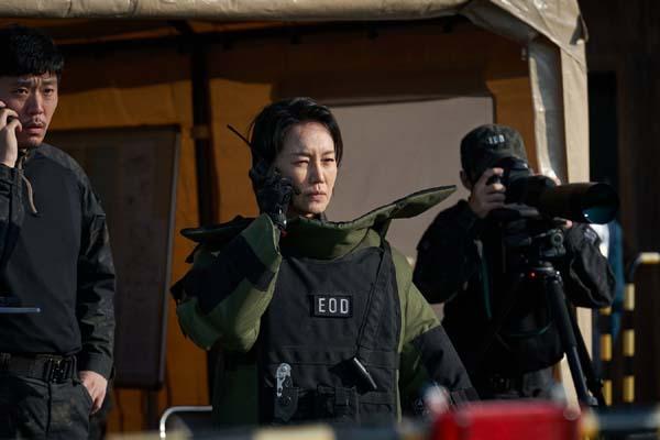 Jin Kyung dans Hard Hit (2021)